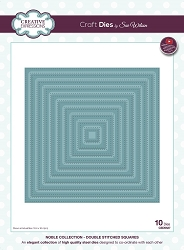 Sue Wilson Designs - Die - Noble Collection Double Stitched Squares