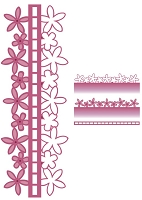 Sue Wilson Designs - Die - Configurations Collection - Blossom Edger