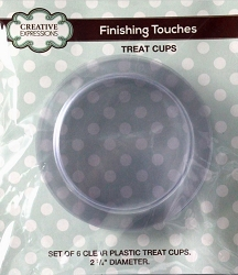 Sue Wilson Designs - Accessory - Kinetics Collection - Set of 6 Plastic Treat Cups (for use with Candy Machine, Snow Globe and Porthole)