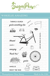 SugarPea Designs - Wheelie Amazing Clear Stamps