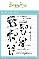 SugarPea Designs - Pandamonium Clear Stamps