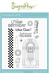 SugarPea Designs - Jukebox Jive Clear Stamps