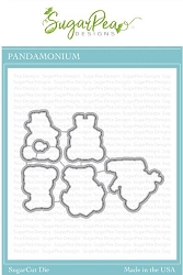 SugarPea Designs - Pandamonium Matching Die