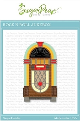 SugarPea Designs - Rock N Roll Jukebox SugarCut Die