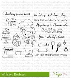 SugarPea Designs - Whisky Business Clear Stamps
