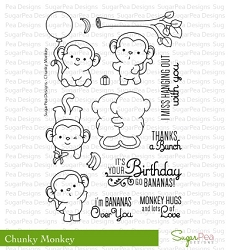 SugarPea Designs - Chunky Monkey Clear Stamps
