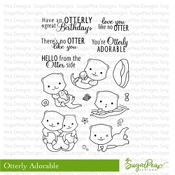 SugarPea Designs - Otterly Adorable Clear Stamps