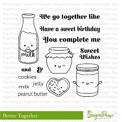 SugarPea Designs - Better Together Clear Stamps