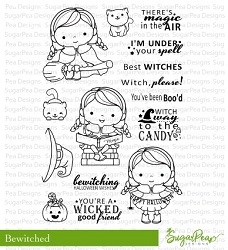 SugarPea Designs - Bewitched Clear Stamps