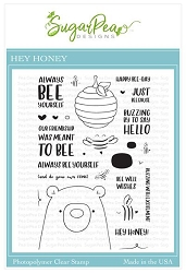 SugarPea Designs - Hey Honey Clear Stamps