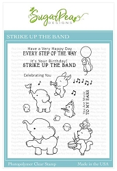 SugarPea Designs - Strike Up The Band Clear Stamps