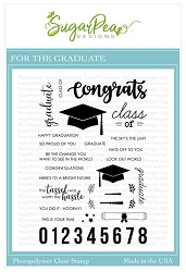 SugarPea Designs - For The Graduate Clear Stamps