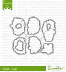 SugarPea Designs - Hedge Hugs Matching Die