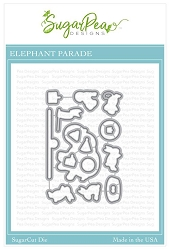 SugarPea Designs - Elephant Parade Matching Die