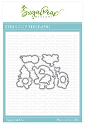 SugarPea Designs - Strike Up The Band Matching Die