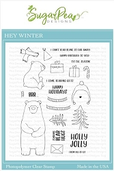SugarPea Designs - Hey Winter Clear Stamps