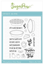 SugarPea Designs - Sweet As Pie Clear Stamps