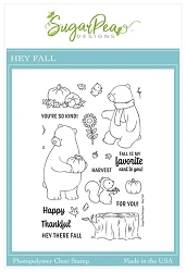 SugarPea Designs - Hey Fall Clear Stamps