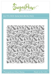 SugarPea Designs - Autumn Background Clear Stamps