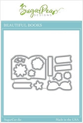 SugarPea Designs - Beautiful Books Matching Die