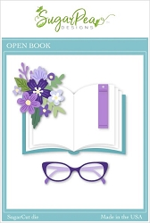 SugarPea Designs - Open Book SugarCut Die