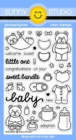 Sunny Studio - Clear Stamp - Baby Bear