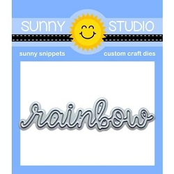 Sunny Studio - Cutting Dies - Rainbow