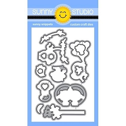 Sunny Studio - Cutting Dies - Love Monkey
