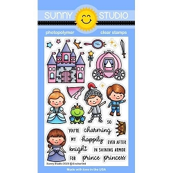 Sunny Studio - Clear Stamp - Enchanted