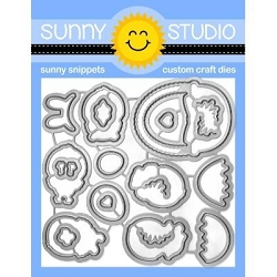 Sunny Studio - Cutting Dies - Chickie Baby