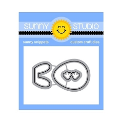 Sunny Studio - Cutting Dies - Eggs to Dye For Craft Dies