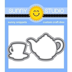 Sunny Studio - Cutting Dies - Tea-riffic