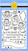 Sunny Studio - Clear Stamp - Little Angels