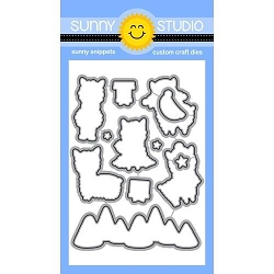 Sunny Studio - Cutting Dies - Alpaca Holiday