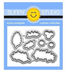 Sunny Studio - Cutting Dies - Season's Greetings