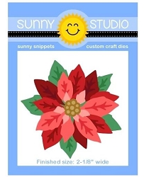Sunny Studio - Cutting Dies - Layered Poinsettia