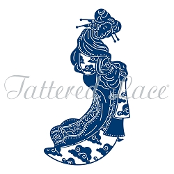 Tattered Lace - Dies - Japanese Lady Keiko :)