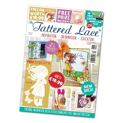 Tattered Lace - Tutorial Magazine & Die Kit - Issue 52