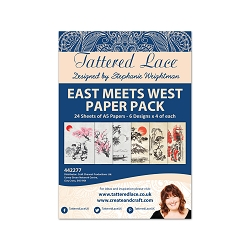 Tattered Lace - East Meets West paper pack