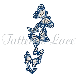 Tattered Lace - Dies - Whitework Ebb of Butterflies