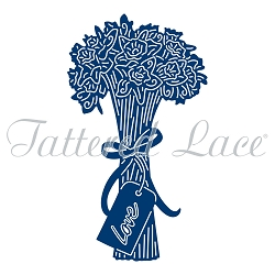 From the FLECTERE Collection TLD0047 NEW Tattered Lace SPRINGTIME STROLL Die