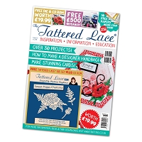 Tattered Lace - Tutorial Magazine & Die Kit - Issue 32