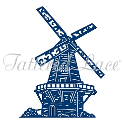 Tattered Lace - Dies - Decorative Windmill