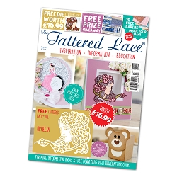 Tattered Lace - Tutorial Magazine & Die Kit - Issue 43