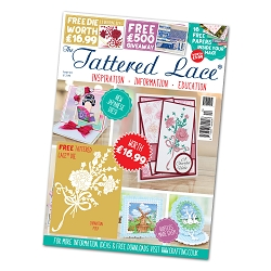 Tattered Lace - Tutorial Magazine & Die Kit - Issue 44