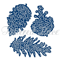 Tattered Lace - Dies - Festive Pines Pine Cones