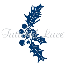 Tattered Lace - Dies - Festive Pines Holly Sprig