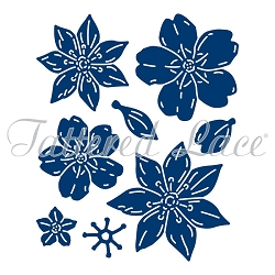 Tattered Lace - Dies - Forest Pines 3D Flowers