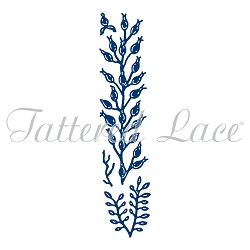 Tattered Lace - Dies - Forest Pines Rose Hip Border Spray