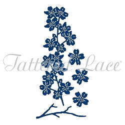 Tattered Lace - Dies - Forest Pines Cherry Blossom Border Spray